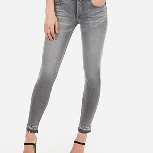 Express mid rise legging jeans 10S